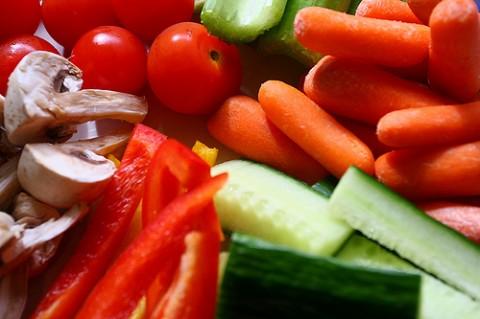 家庭菜園-野菜がいっぱい