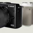 canon eos m3のブラック・シルバーモデルのイメージ
